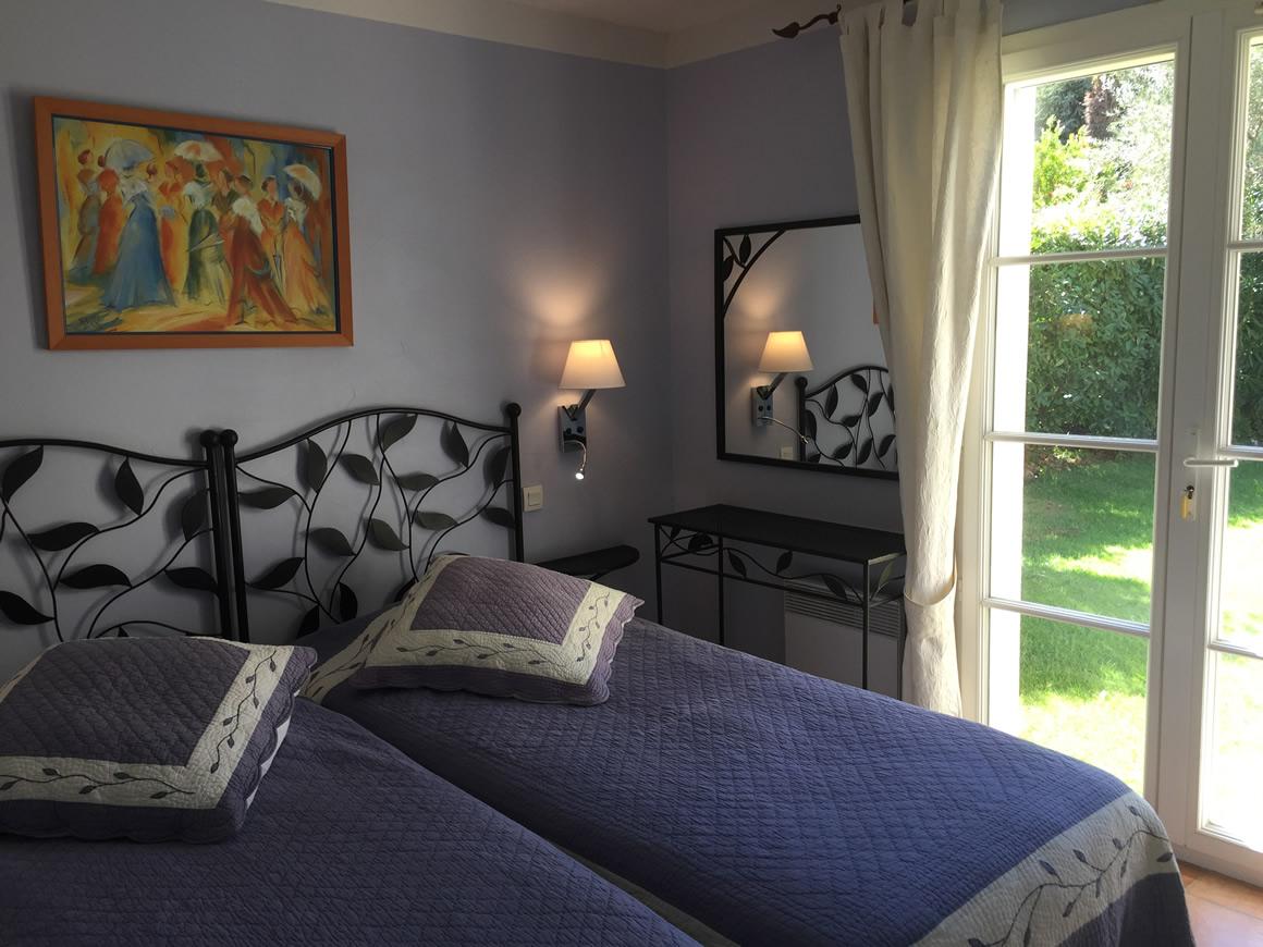 location vacances nice chambre lits jumeaux domaine de