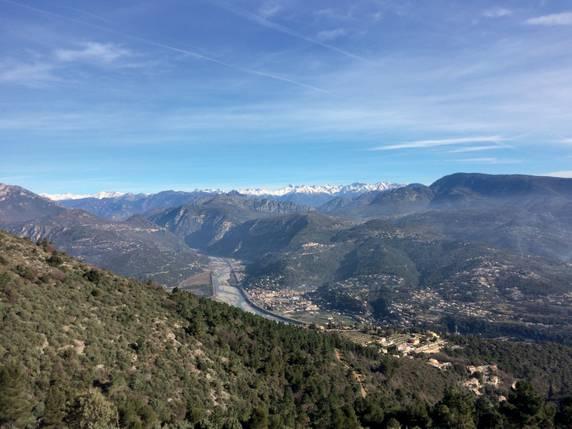 Randonnée Carros France